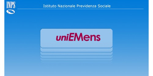 software controllo uniemens